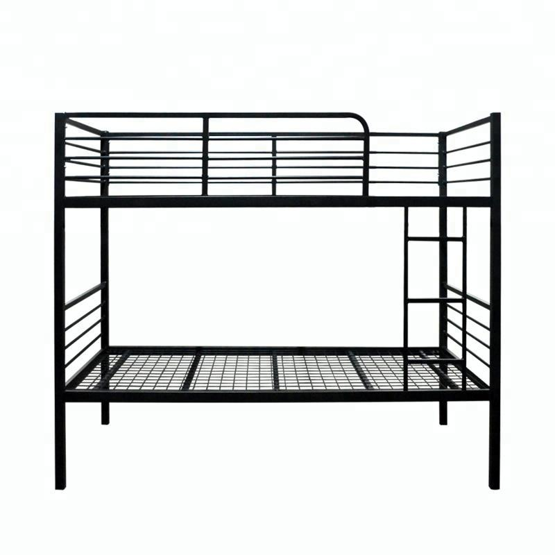 modern designs metal iron steel bed prison bunk beds