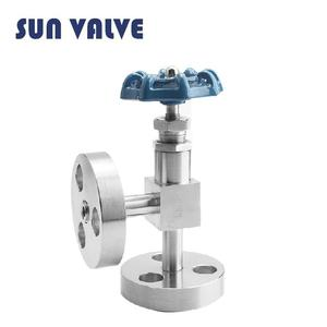 1/2 inch stainless steel forged flange end globe control valve