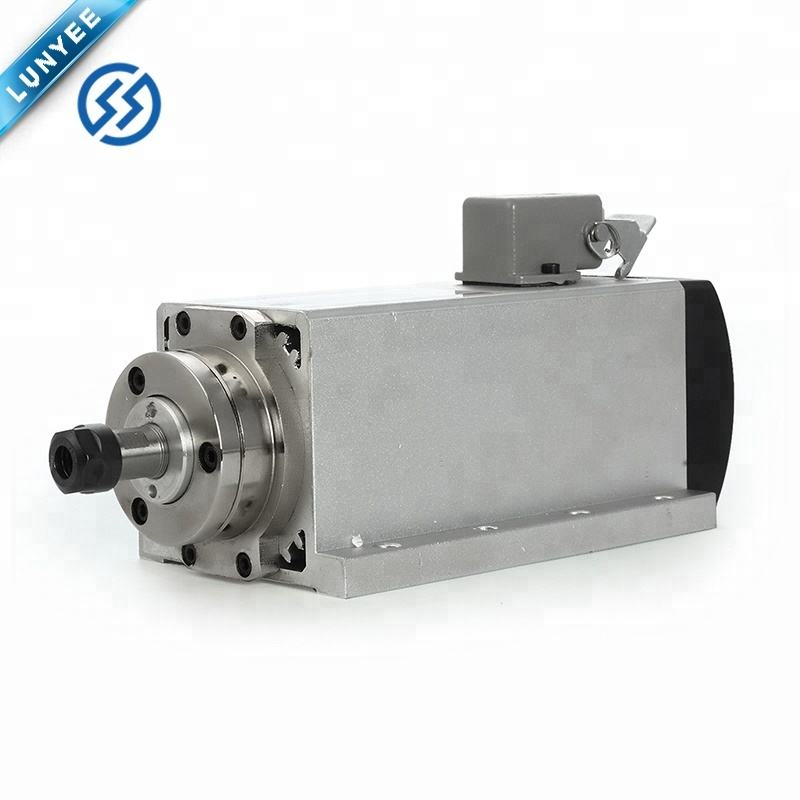 1.5kw spindle motor air cooled motor cnc spindle motor machine tool spindle