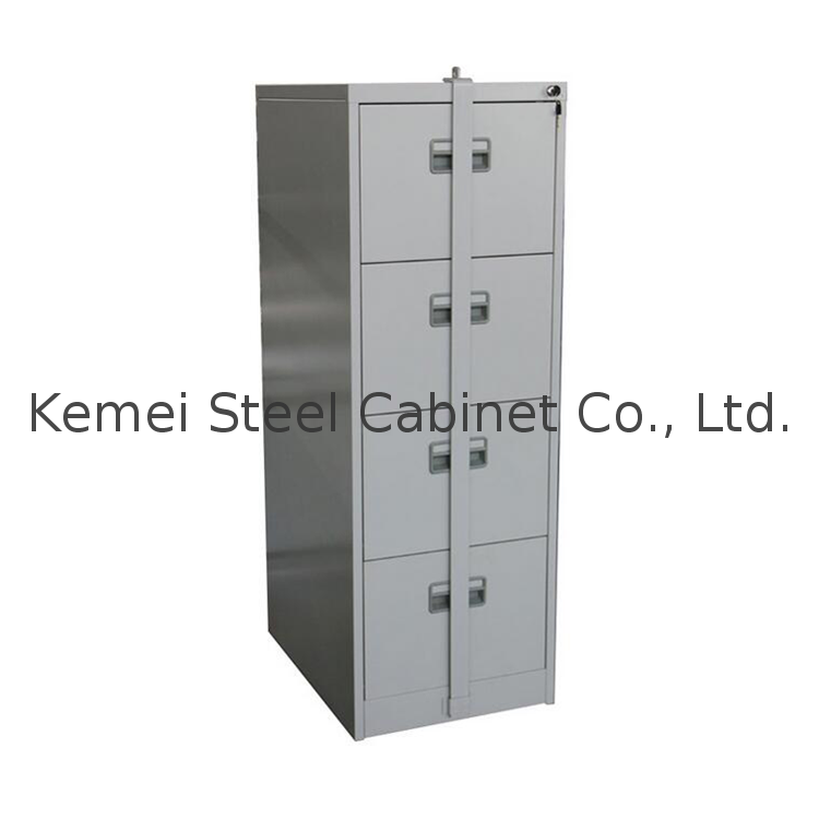 Vertical 4 Drawer Steel File Cabinet