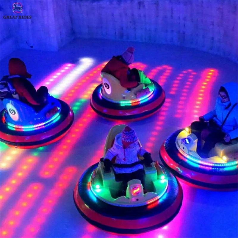 Factory direct price theme park equipment electric battery inflatable ufo small dodgem bumper car for adults and kids