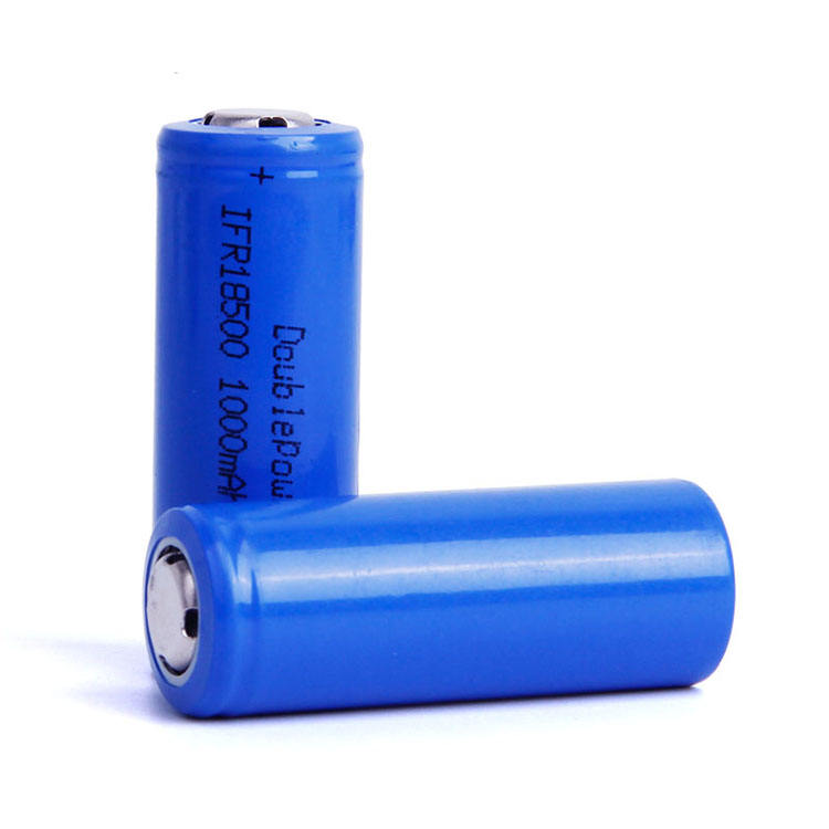 Reliable supplier 3.2V 1000mAh lifepo4 ifr 18500 rechargeable battery