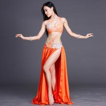 Sexy Costumes For Belly Dancing Performance Set Bra Skirt 2 Pieces Women/Female India Costume For Oriental Eastern Dances DL2228