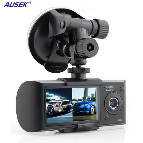 Hot selling car dvr video recorder 2.7'' Dual Lens dash camera