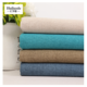 Plain Fabric Linen for High Quality Polyester Upholstery Fabric Linen for Curtain Sofa Cushion Chair Car Set