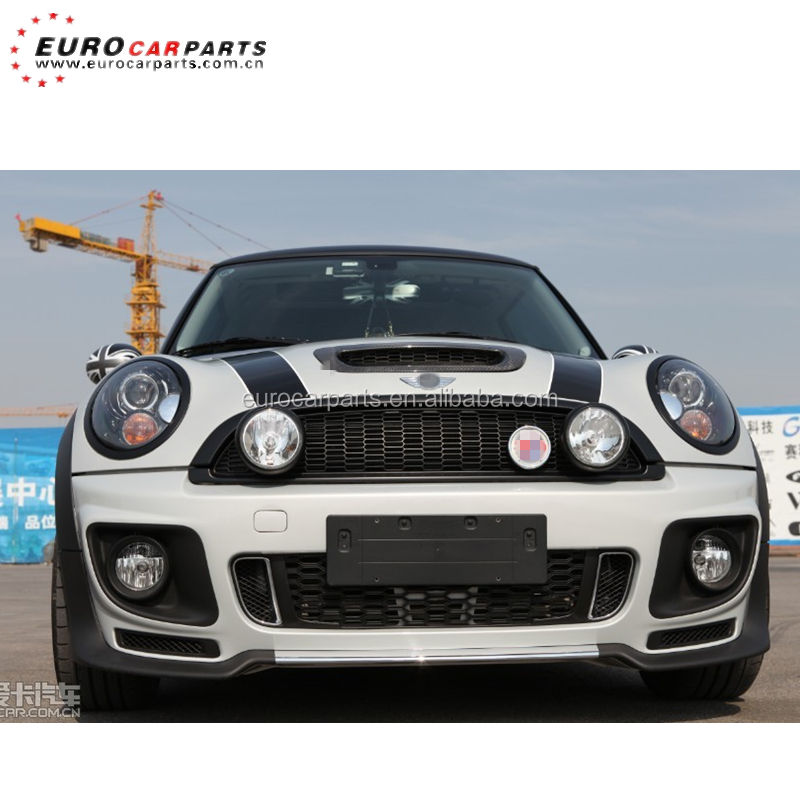 Mini body kits R56 para R56 PP body kit para MINI COOPER S JCW estilo Mini R56 jogos do corpo PP material