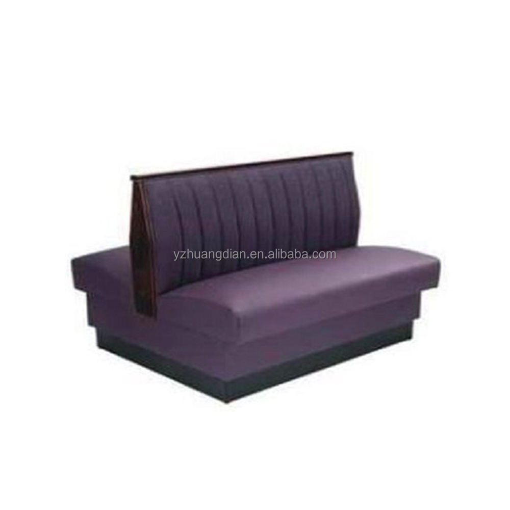 double side restaurant sofa booth for sale YK70108