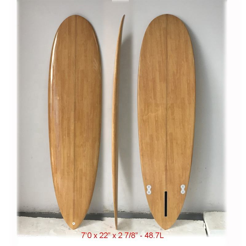 Attractive new products wooden drinks surfboard