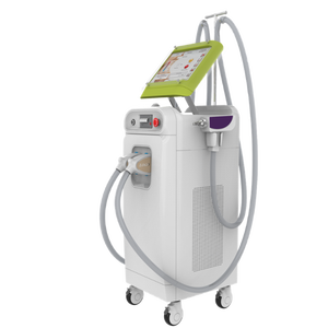 approved 2016 Hottest 2 IN 1 ipl laser nd yag 1064 hair removal