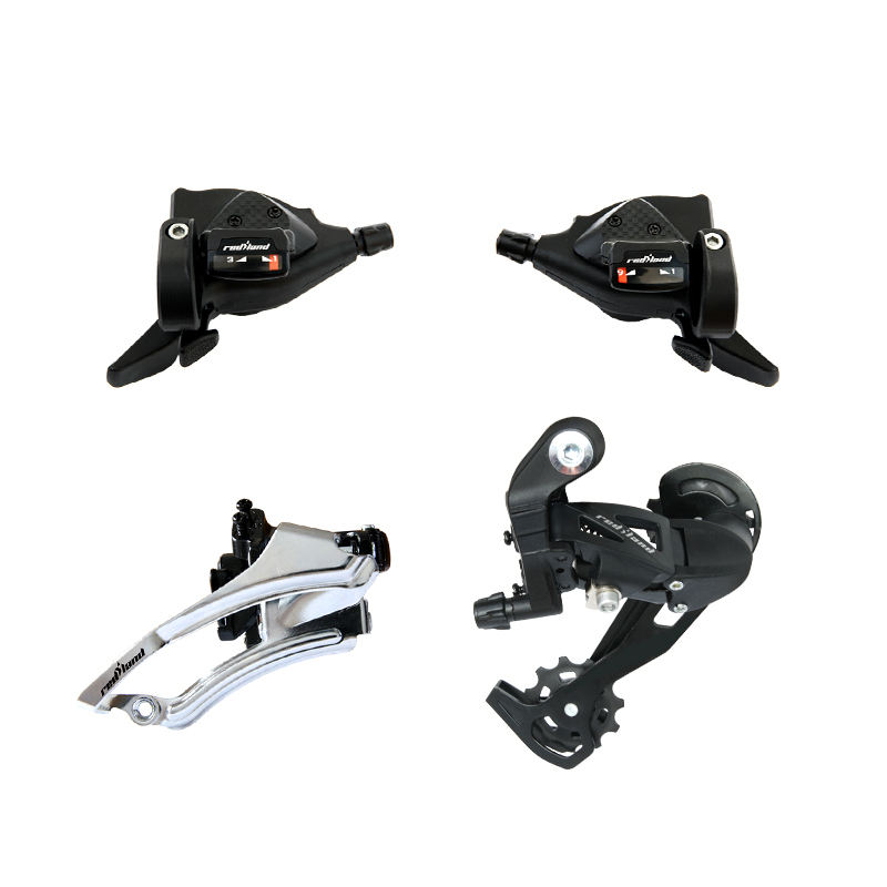 bicycle derailleur set 27 speed front rear derailleur shifter lever for MTB Mountain Bikes bicycle shifter