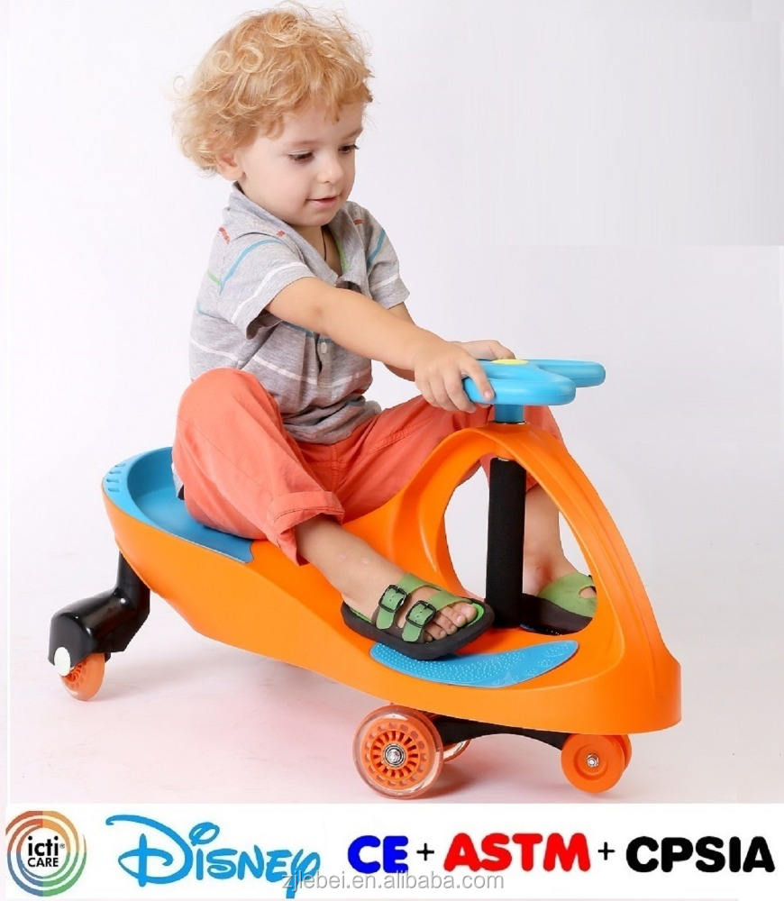 Best selling CE EN 71 ASTM F963 Approval Lebei Kids PP and Iron material assembling kids swing cars