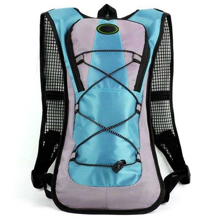 Hot sale 600D polyester 5L water carrier backpack pack bag cycling hydration backpack for 2L water bladder pack