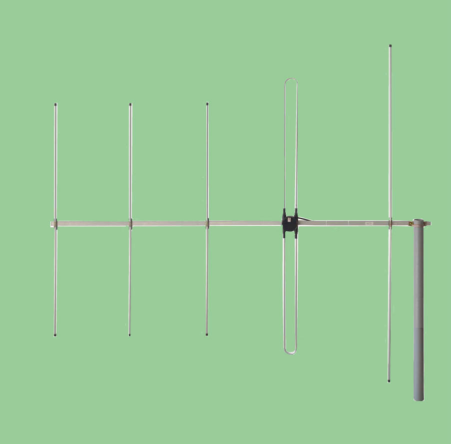 5 element fm yagi antenne