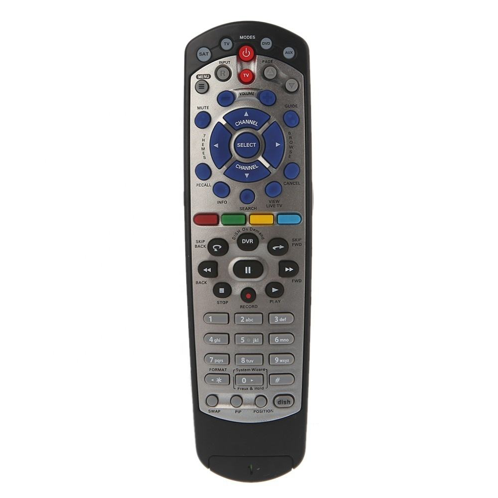 New IR/UHF Remote Control For Dish Network 20.1 Satellite receiver W/ SAT TV DVD AUX Function