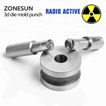 ZONESUN customized Pill Stamp embossing precision mold tablet press tool punch and die TDP-5/1.5 for tablet machine