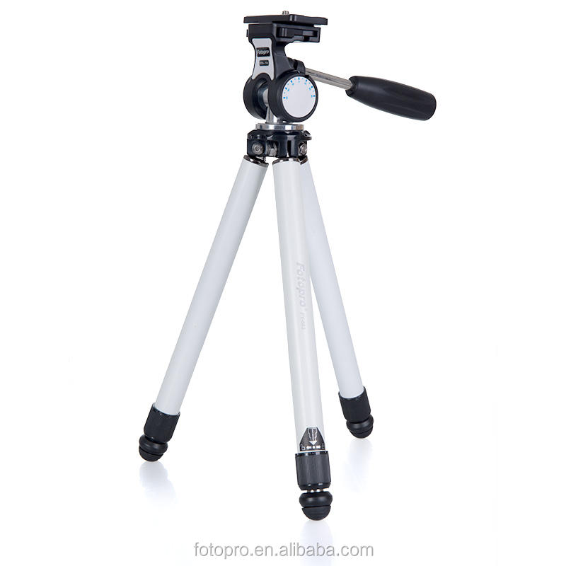 FOTOPRO FY-683 popular stainless steel aluminum professional lightweight tripod