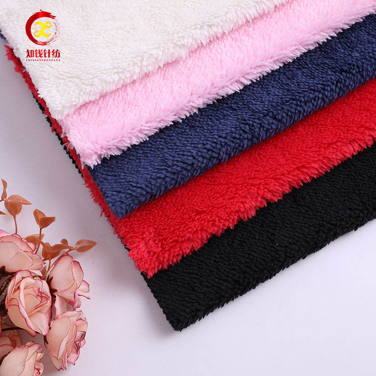 100 polyester fleece fabric) 저 (low) 더미 smooth 봉 제 fabric