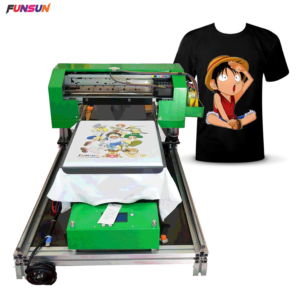 Direct To Garment Printer A3 Ukuran Printer DTG Digital T Mesin Sablon Kaos