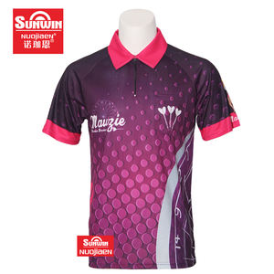 super quality 100% polyester professional dart jerseys