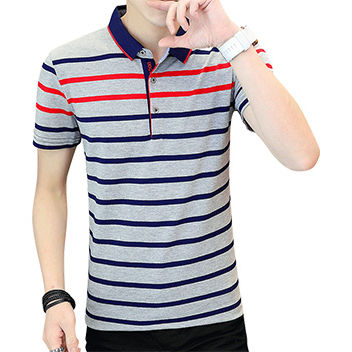 Wholesale Unisex Solid Color Polo Shirt Custom Printing Men Short Sleeve Cotton Shirt Casual Polo T Shirt