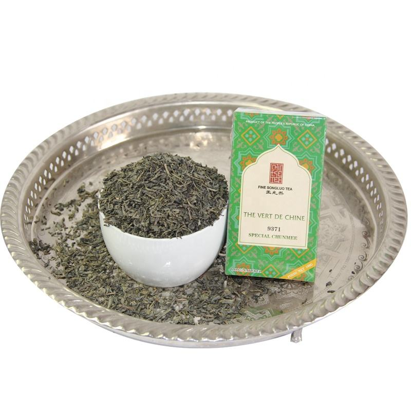 best green tea brands Chinese chunmee green tea 9371 for Morocco