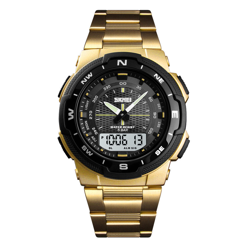 Wrist Watch Man Skmei 1370 Mens Fashion Watch Relogio Masculino