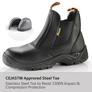 Brand Name Safety Shoes for Worker Designer Work Boots China Safety Shoe Steel Toe Cap Safety Boots