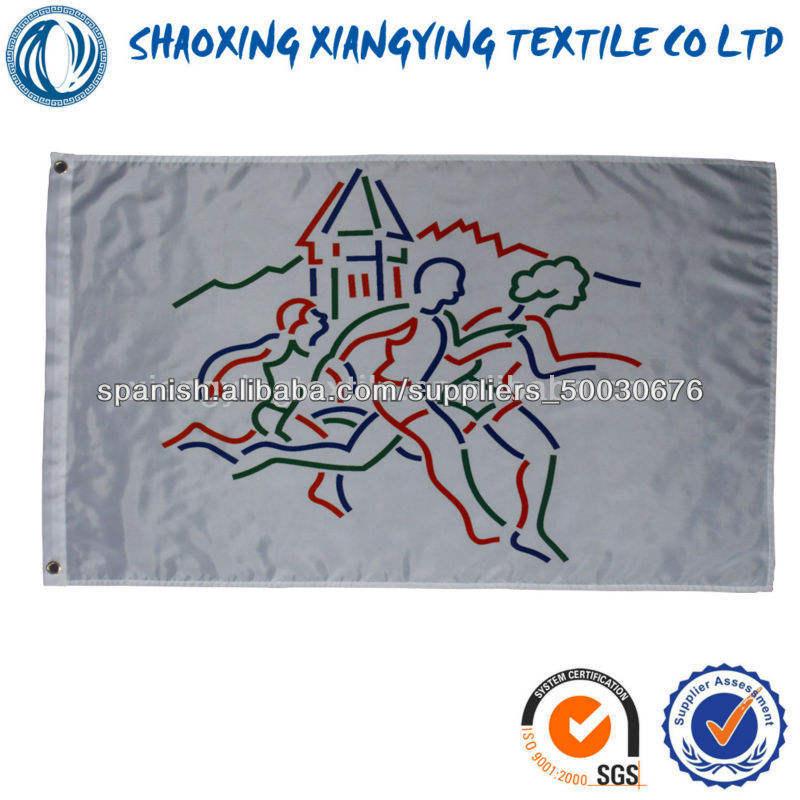 en la pared de la bandera de dibujo interior o exterior
