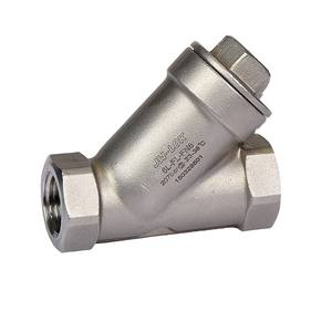 Y type brass filter valve with factory wholesale price