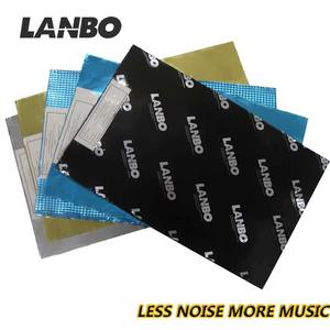 Lanbo auto noise reducer trillingen demping materialen, geluiddempende pads