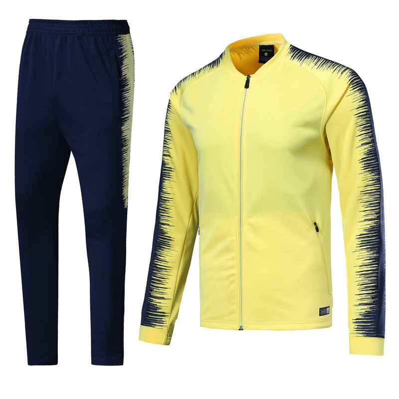 High quality warm soccer tracksuit football club soccer training suit