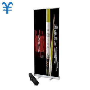 Budget Moving Roll Up Banner Stand Delen Met Clip Bar