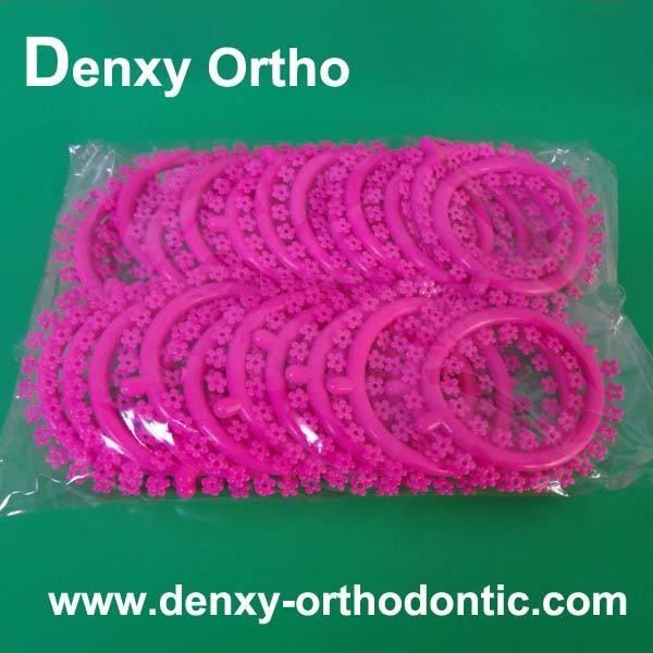 Mickey/estrellas dentales ortodoncia elastomérico de moda ligaduras