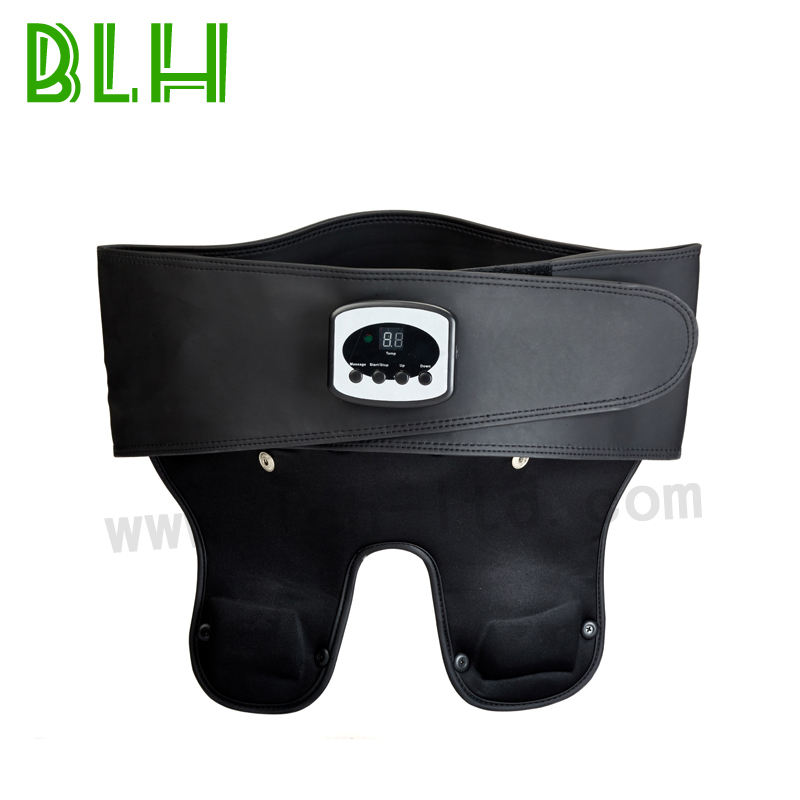 Electric vibrating infrared slimming waist massager hip bottom pain relieve belt aches heating pads China manufacturer