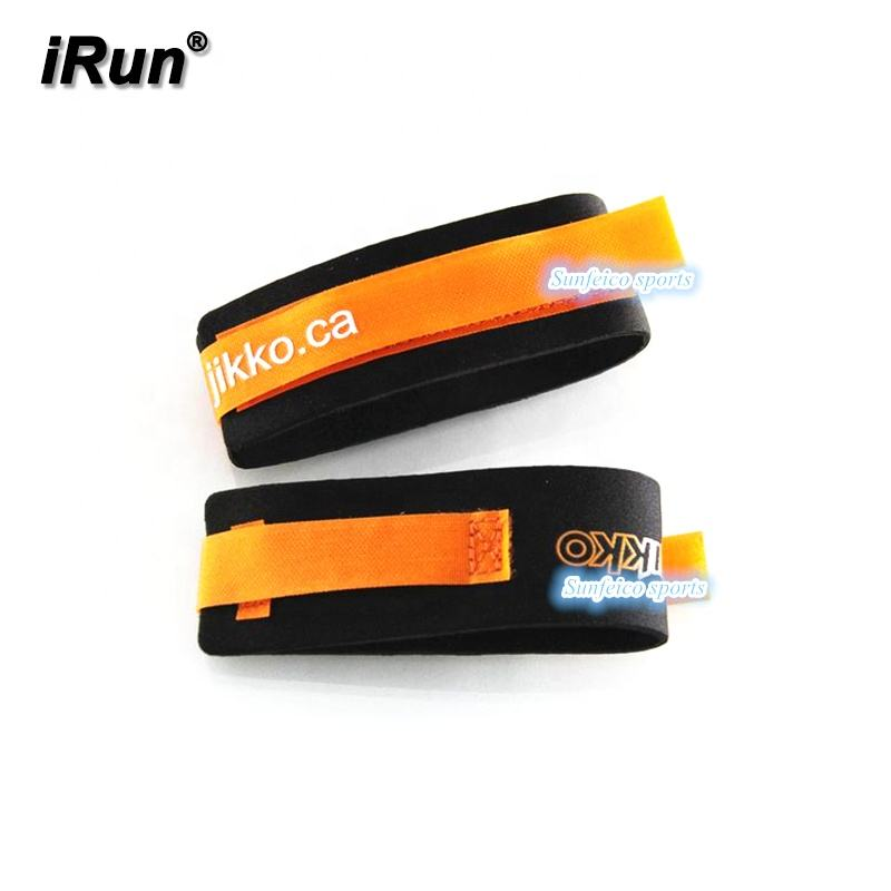 [1] Triathlon Timing Chip Band -Ankle Neoprene Running Leg Hook and Loop band- Accept Custom - Ebay/Amozn Supplier