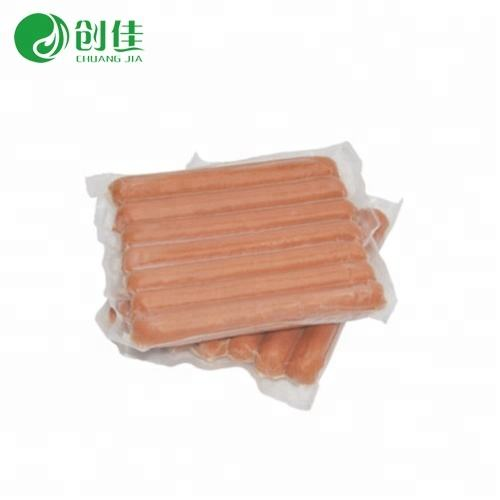 clear nylon pe food packaging heat sealed frozen vacuum bag