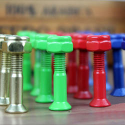 7/8inch, 1inch, 1.38inch, 1.5inch allen head colored skateboard bolts and nuts