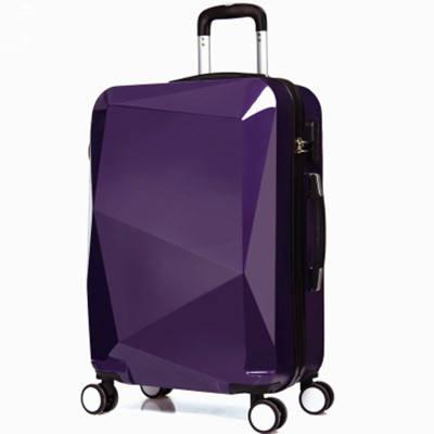 Hongsheng Business Alloy Aluminum Frame Universal Wheel Suitcase,Champagne,26