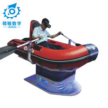 The Attractive Different Virtual Reality Glasses 9D VR Floating Boat simulator with VR oculus