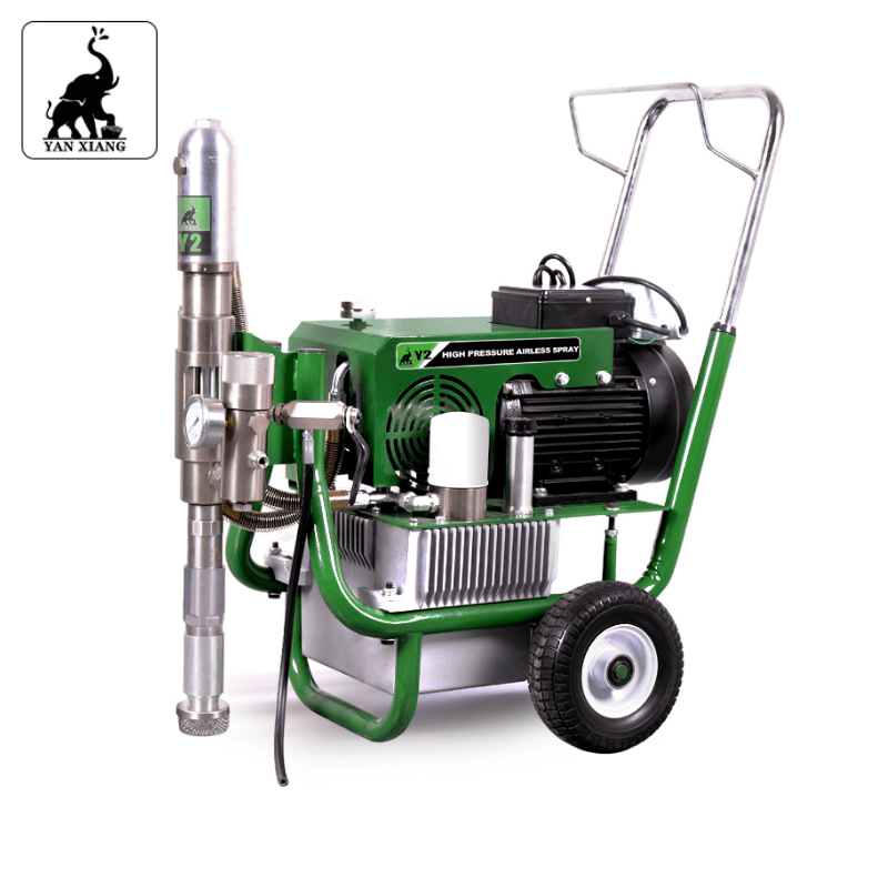 Y2 Electric Hydraulic Airless Paint Sprayers,High Pressure Airless Heavy Duty Putty Sprayer