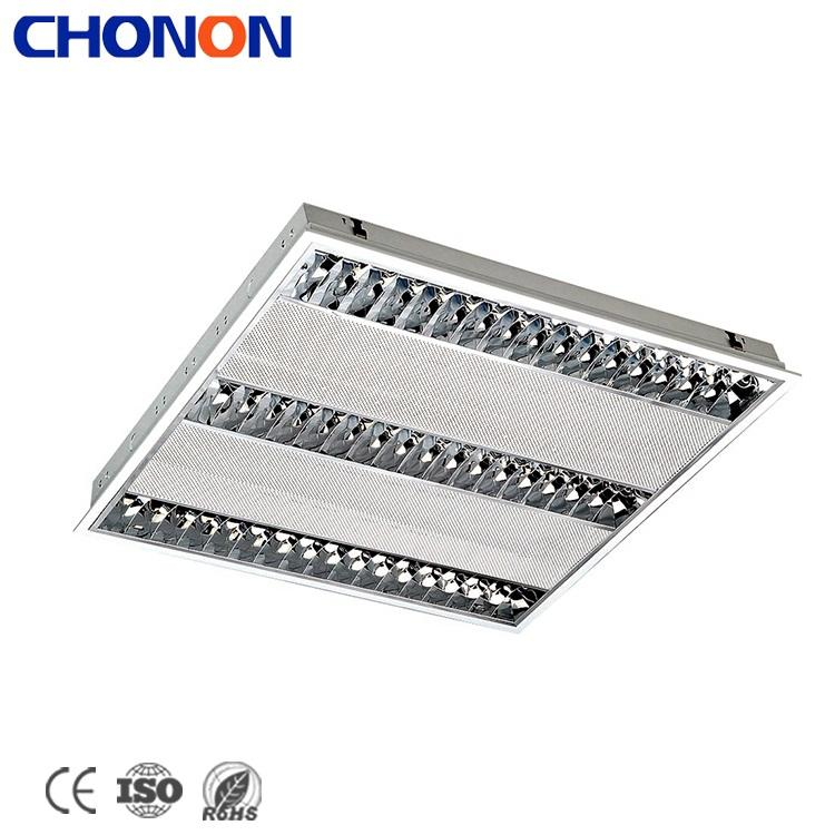 High End Kantoor Decoratie Louvre Reflector Led Strip T5 Grille Verlichting