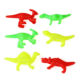 Many modelling plastic animal toy dinosaur model
