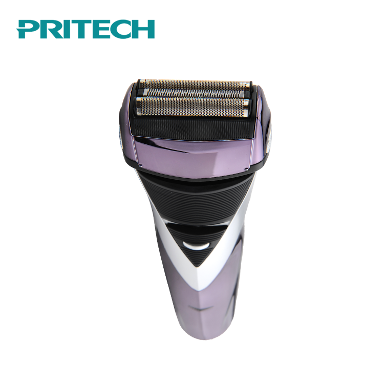PRITECH Cheap Price Washable Design Rechargeable 3 Head Male Electric Shaver