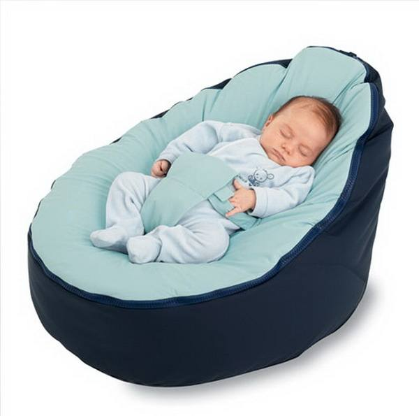 hot sell soft newborn baby bed baby bean bag for sale