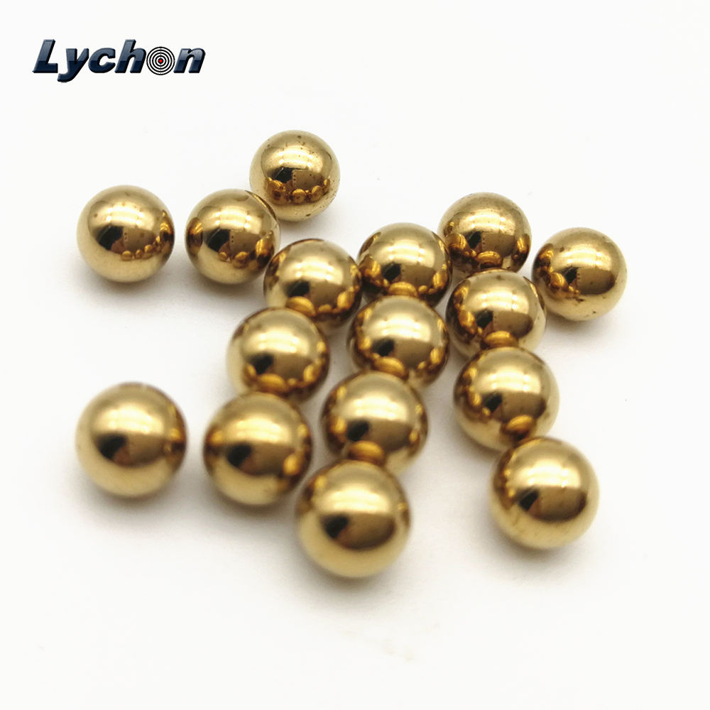 OD 4-10mm Precision Brass Solid Beads Industrial Bearing Ball Copper Sphere