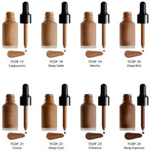 Private Label 24 Colors Wholesale Full Coverage Control  Matte Liquid  Drop Foundation Face Makeup