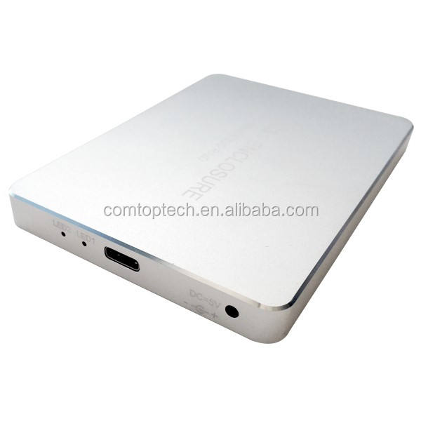 OEM Type <span class=keywords><strong>C</strong></span> USB Gen 2 Double mSATA <span class=keywords><strong>SSD</strong></span> boîtier avec fonction Raid