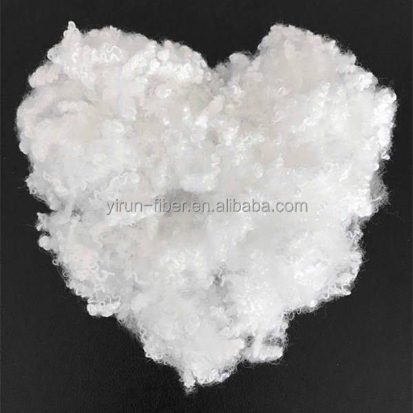 Virgin hollow conjugated polyester staple fiber with silicon-7D