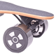 China the best boosted electric skateboard and factory whole sale cheap maple deck electric skateboard offroad with remote