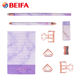 Beifa Brand RST80031 Colored Students Back To School Stationery, Office Table Stationery Set, Kids Stationery Set